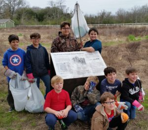 20170204 Schob Nature Preserve Cleanup